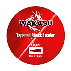 PUENTE LINEA WAKASU 0.20-0.57 MM 15 M ROJO