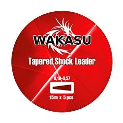 PUENTE LINEA WAKASU 0.16-0.50 MM 15 M ROJO